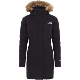 The North Face Cagoule Parka Dame tnf black